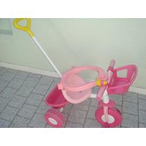 Triciclo Infantil Rondi Nena Pink Metal