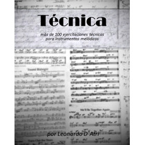 Tecnica, Libro Completo Para Músicos