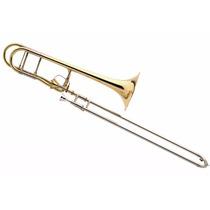 Bach Trombón A Vara Tenor 42t Con F Abierto C/estuche Daiam