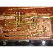 Trompeta Yamaha Ytr241 Sib/do Usada Zona Obelisco