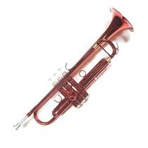 Trompeta En Bb Parquer Custom + Estuche Accesorios. Rojo