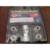 Tuercas Antirrobo Dodge Coronado Llanta De Chapa Original