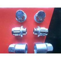 Tuercas Antirrobo Toyota Hilux Y Srv Llanta Aluminio-cromada