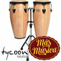 Tycoon Stc1b Congas Supremo Series 10 +11 C/sop Doble Neg