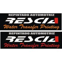 Water Transfer Printing Rescia & Asociados Films