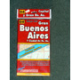 Gran Bs As Mapa Argenguide Mide 1.16 M X 76cm