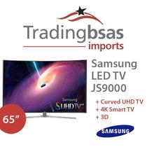 Samsung Led 65 Js 9000 65js9000 Ultra Hd 4k 3d Linea Nueva!!