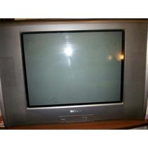 Tv Sony 21 Pulgadas Pantalla Plana Plateada