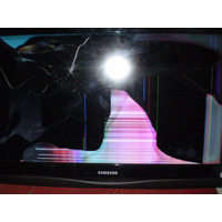 Samsung Ln32c350d1xzp Pantalla Rota Funciona Todo Lo Demas