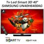 Tv Led 3d Smart Samsung 40 Un40h6400 Hdmi Tda Usb Hd H6400