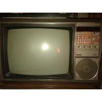 Antiguo Tv Philips 21 Pulgadas Y Videograbadora A Reparar