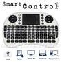 Teclado Inalambrico Touch Y Ful Qwert Para Smart Tv Y Tablet