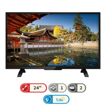 Led Tv Digital Hd Sanyo 24 Ginga Hdmi Usb C/r Novogar