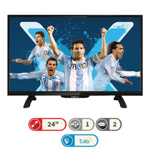 Tv Led 24¨ Noblex Hd Digital Ginga 2 Hdmi + 1 Usb + Tda