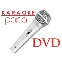 Karaoke Para Dvd En Rosario + Microfono De Regao