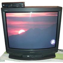 Tv Sony Trinitron 34 Pulgadas, Funcionando 100%