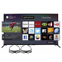 Smart Tv Led Sony 60 3d 60w855b Incluye 2 Lentes 3d Env Gts!
