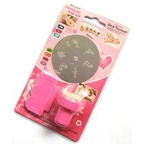 5 Kit Stamping Nails Uñas Esculpidas Disco Sello Y Espatula