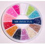 Media Perlas Carrousel 12 Colores Para Nail Art Mr Invictus