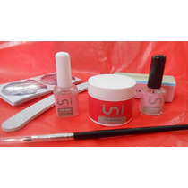 Kit Completo Uñas Gelificada Ini Esculpidas Ydnis Maquillaje