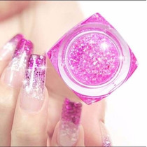 Gel Uv Color X12 Con Glitter Uñas Gelificadas Nail Art