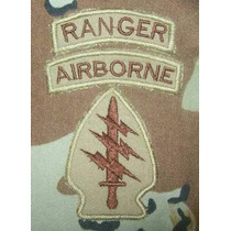 Set 3 Parches Special Forces Airborne Ranger Sniper U S Army
