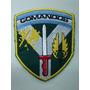 Escudo Bordado Original Comando Malvinas