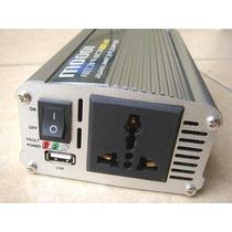 Inversor Conversor 1000w - 12v Dc - 220v Ac Con Usb - Nuevo