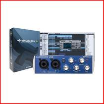 Placa De Sonido Presonus Audiobox Usb 2x2 Midi - En Palermo