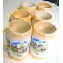 Jarros Chop De Porcelana Muy Antiguos Buen Estado General