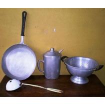 Lote De 4 Utensillos De Cocina Uso O Decoracion Miralos