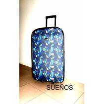 Set Valija Viaje De 2 Grande Y Chica Travel Ruedas Roller