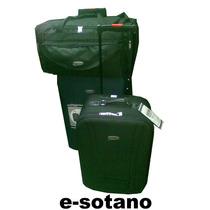 Valija Semirrigida X Set De Tres Piezas Travelite