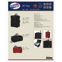 Set De Valijas Samsonite American Tourister City 3 Piezas