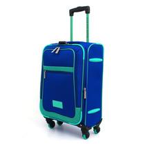 Trolley Expandible Rispack Chico Azul Con Verde 20\