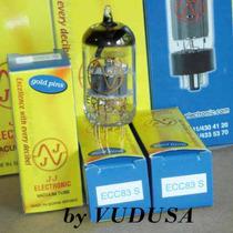 Válvula Electrónica Vacuum Tube Ecc83 / 12ax7 Gold Pins Jj