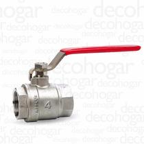 Válvula Esférica Agua Riego De Bronce 4