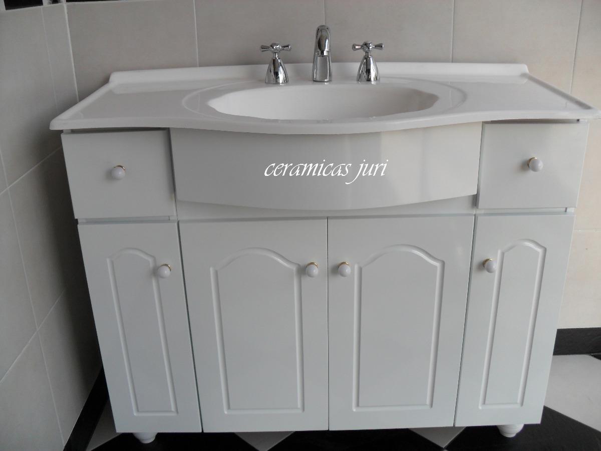 Mercadolibre mueble con bacha para bano for Mueble bano blanco