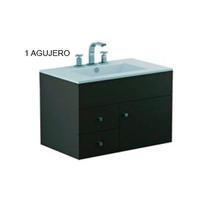 Vanitory Cadria Aereo Ferrum 75 Cm Marron 1 Agujero