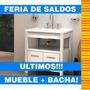 Oferta Vanitory Campi Domus Blanco + Bacha // Abelson