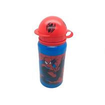 Termo / Botella Aluminio Spiderman Hombre Araña Disney Store