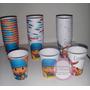 Vasos Descartables Artesanales De Pocoyo, Para Cumpleaños