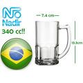Chop X12 Nadir Cervecero Cerveza Vidrio Chopera Pinta Gravar
