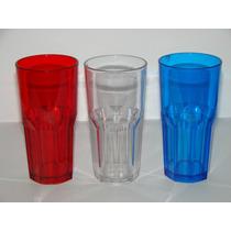 Vaso Plastico Simil Vidrio Tipo Nadir Bristol