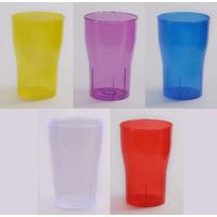 Vaso De Plástico Rígido Tipo Cola X 25 Unidades