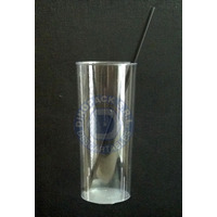 Vaso De Plástico Trago Largo 290cc Cristal X 250 Unidades