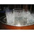 928- Excelente Juego De Whisky Cristal Calidad Superior