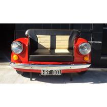 Sillón Fiat 600 Original Cuero Ecológico