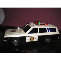 Antiguo Auto Policia Yone Japones Decada 70- Devoto Toys