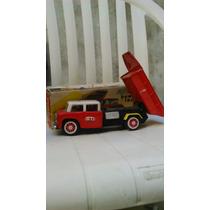 Antiguo Camion Volcador, Friccion En Caja. Nuevo !!!!